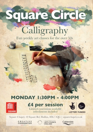 calligraphy-poster